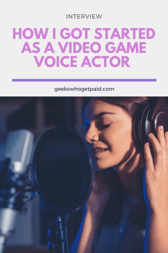 Jessica Osborne Video Game Voice Actor - Pinterest Image